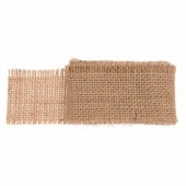 Jute ribbon 40mm/1m, natural