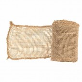 Jute ribbon 10cm/3m, natural