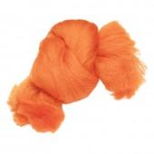 Felting wool, orange