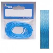 Satin cord 5m/2mm turquoise