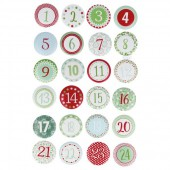 Artemio - Wooden numbers from 1 to 24