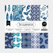 Paperpad Set Blue