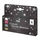 Kreul - Chalky markers, 4 pcs