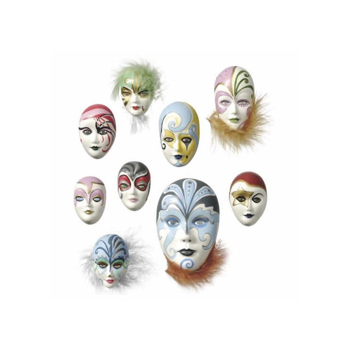 Mould mini masks 4-8cm