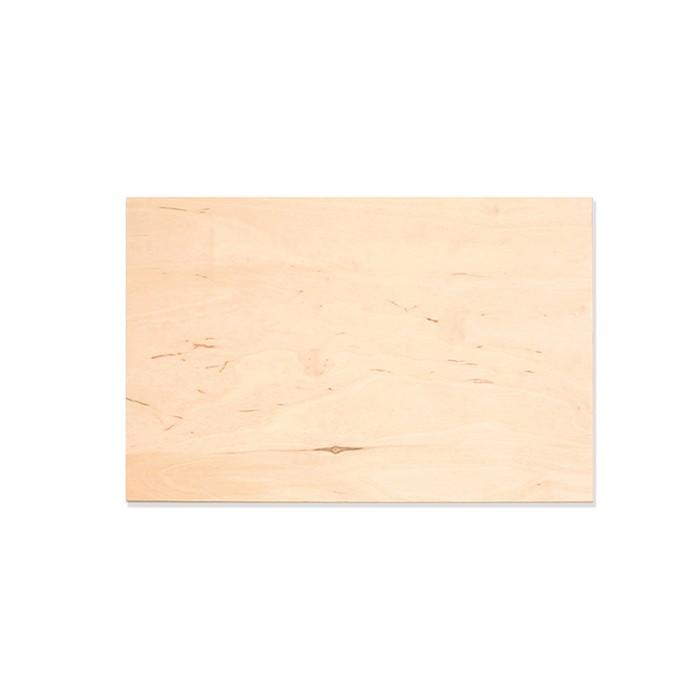 Birch plywood plate 25x30cm, 1 pce