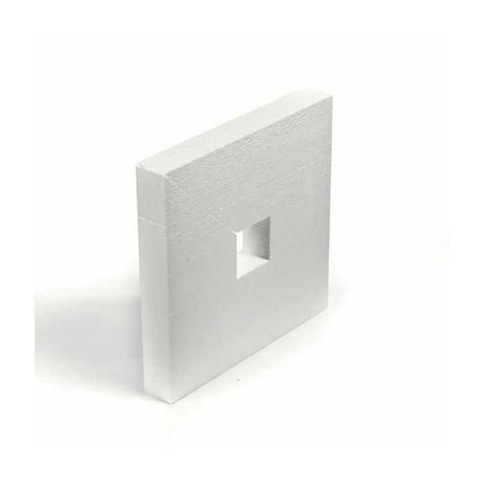 Styrofoam Square 32.5x32.5x5cm