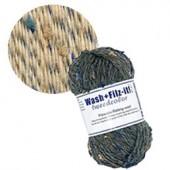 Machine felting wool, Tweed beige
