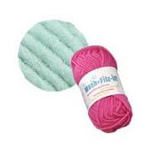 Machine felting wool, mint