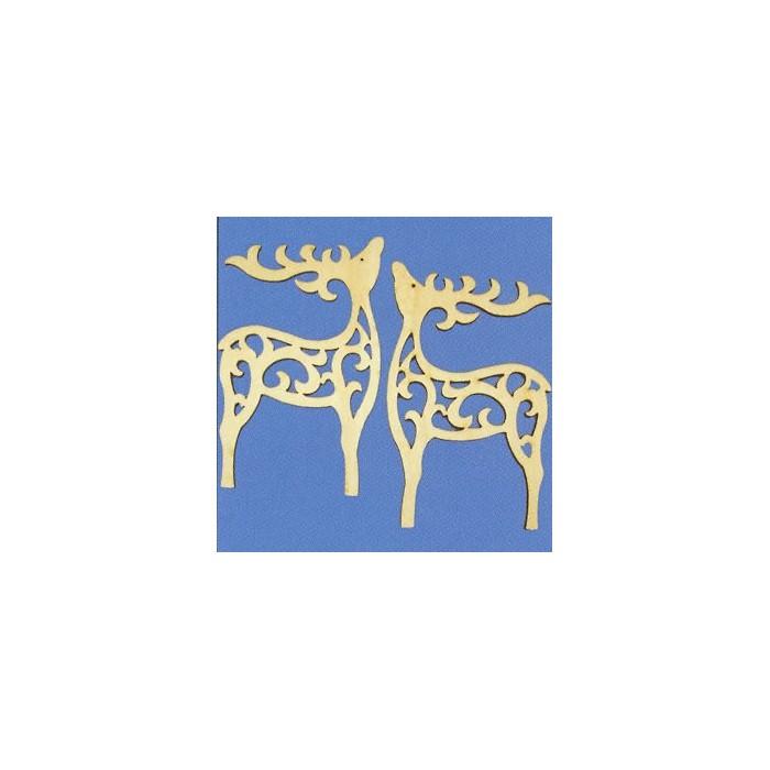 "Wooden ornaments ""deer"" 15cm"