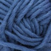 Machine felting wool, blue