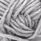 Machine felting wool, grey