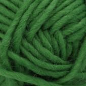 Machine felting wool, green