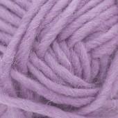 Machine felting wool, lilac