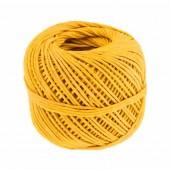 Hemp crochet yarn, yellow