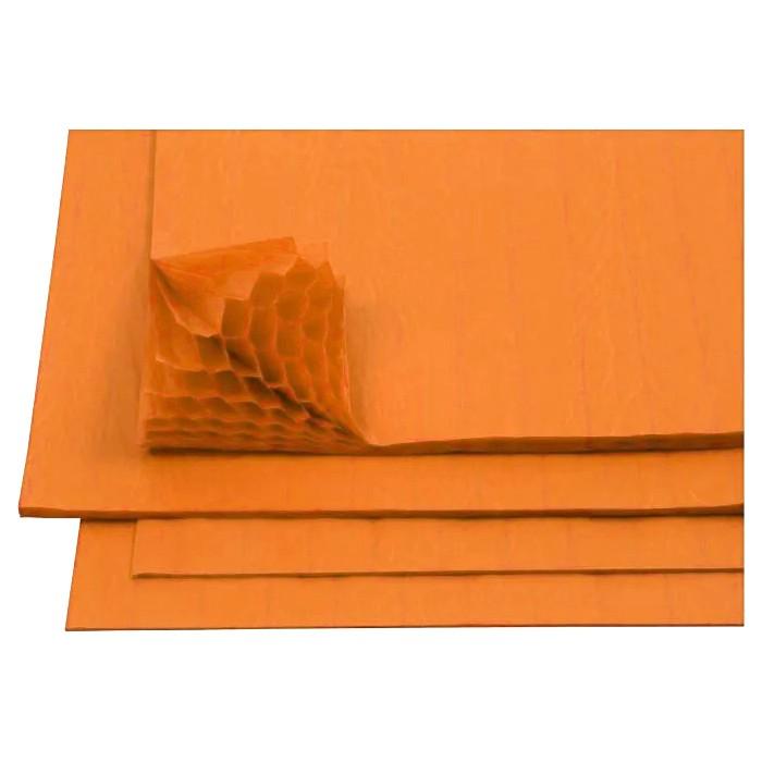 Honeycomb paper, dark yellow, 30 glued layers, A4