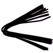 Pipe cleaners, 10 pces, black