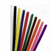 Pipe cleaners, 10 pces, assorted