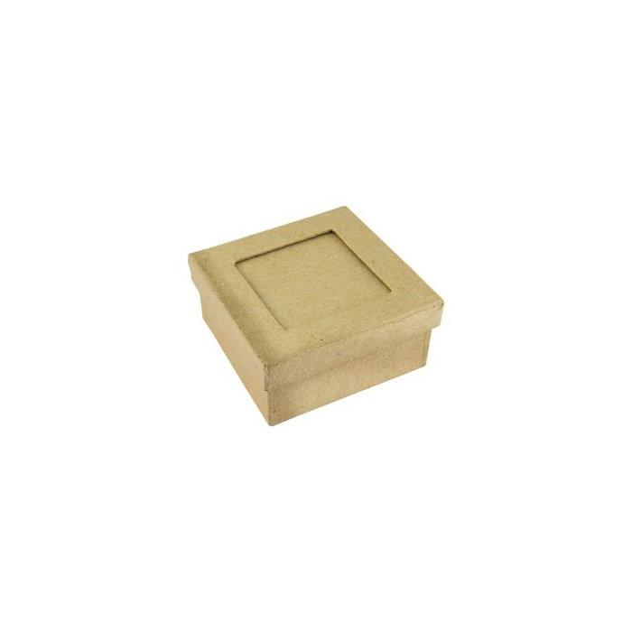Cardboard passepartout box square
