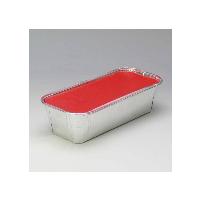 Modelling wax, red, 500g