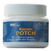 Kerzen Potch, glue for candles