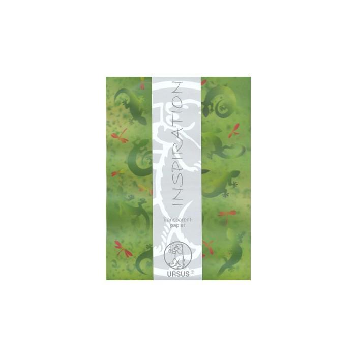 "Transparent paper ""Gecko"""