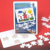 Puzzle en blanc, 72 pièces