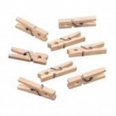 Mini clothespins, 2.5cm