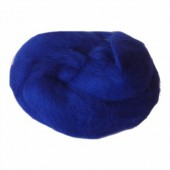 Felting wool, blue
