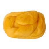 Felting wool, yellow