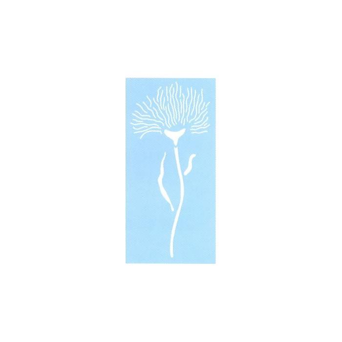 Stencil flower I