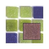 Glass Mosaic Tiles 2x2cm, 100g, dark purple