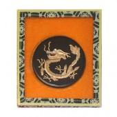 Encre de Chine solide, coffret galette Dragon