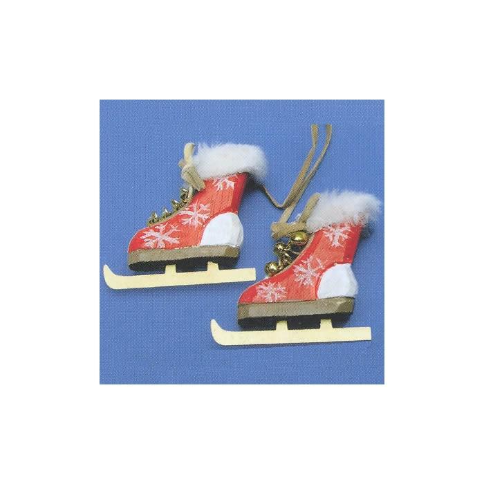Wooden skates, 5.5xm, 2 pces