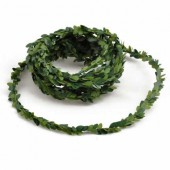 Mini garland of boxwood green, 3m