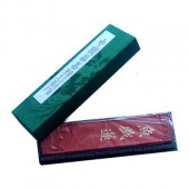 Solid Chinese Ink, casket of 1 vermilion stick