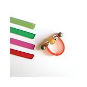 Lacet PVC, 6mm/20cm, pink