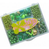 Boîte Rocailles 7 cases vert