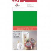 Feuille décor métallique, 20x30cm, vert