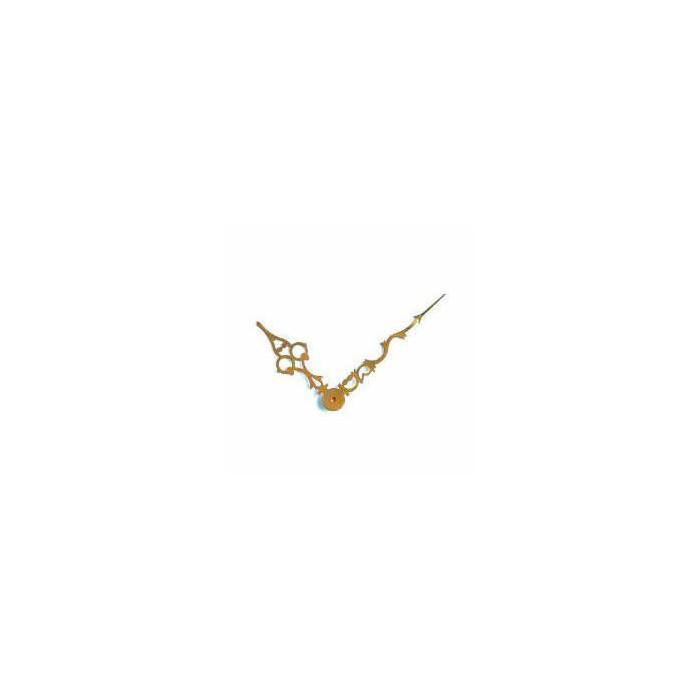 Brass gold antique clock-hands 103/72mm