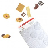 Mould cookies, 9 shapes from 3 to 8cm