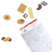 Moule pâtisseries, 9 motifs de 3 à 8cm