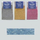 Glass granules, light blue