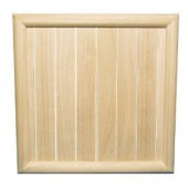 Grand cadre en bois 43x43cm