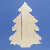 Plaque en bois sapin 45cm