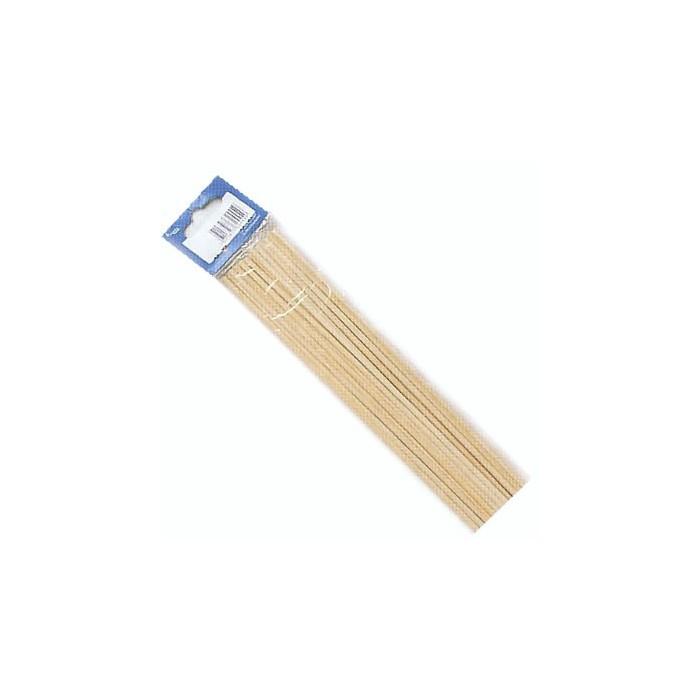 Round Wooden sticks, Ø4mm/25cm, 10 pces