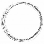 Cable en acier spécial 1mm/3m