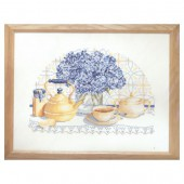 Counted Cross Stitch kit - Tea time