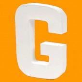 Lettre en carton 20.5cm : G