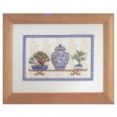 Counted Cross Stitch kit - Bonsaï