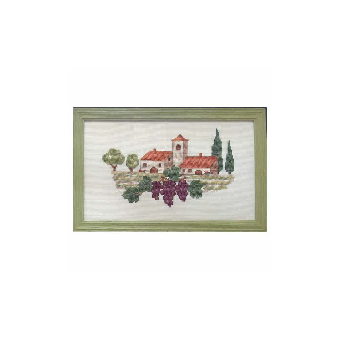 Counted Cross Stitch kit - Vignoble